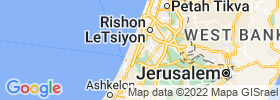 Yavne map
